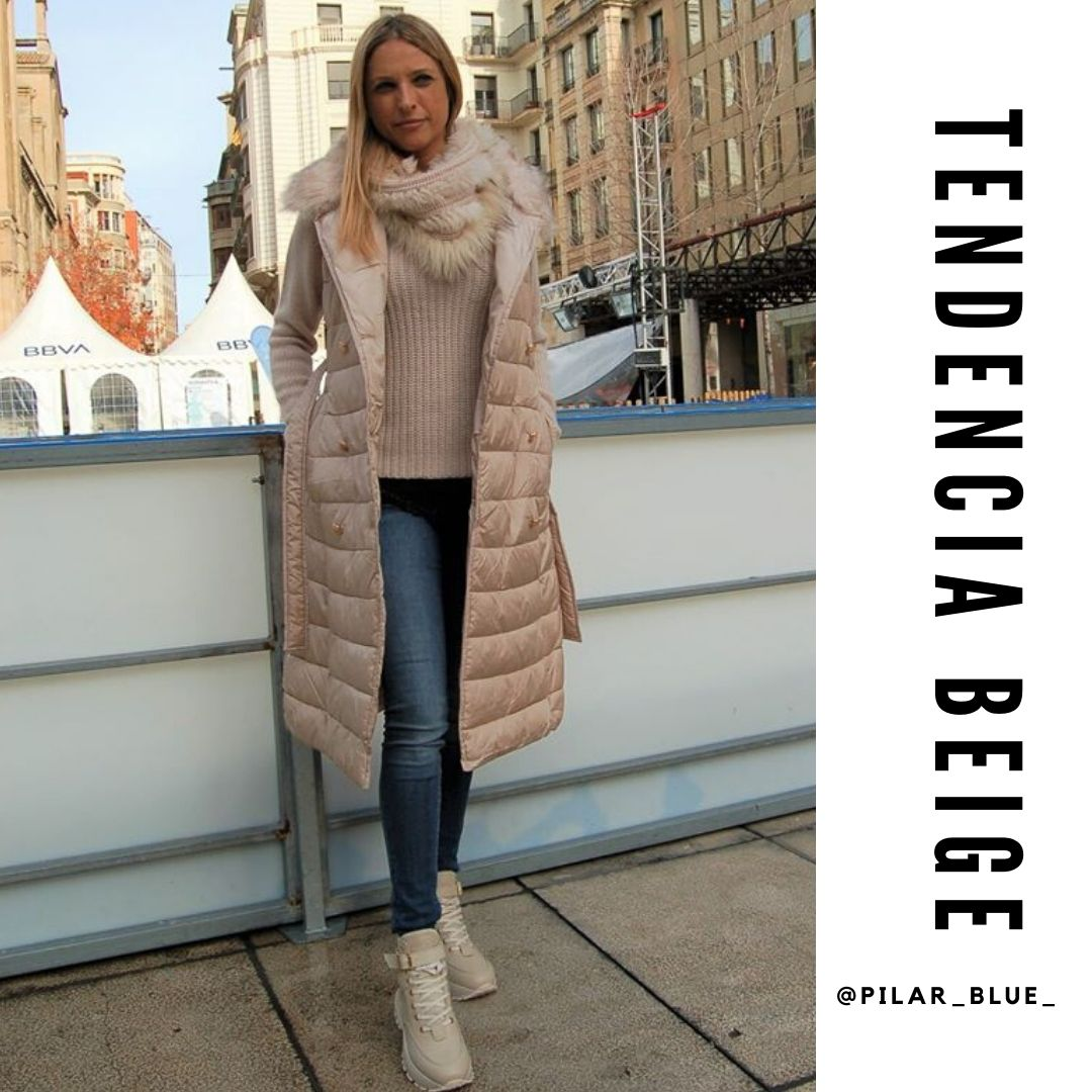 LOOK TENDENCIA BEIGE
