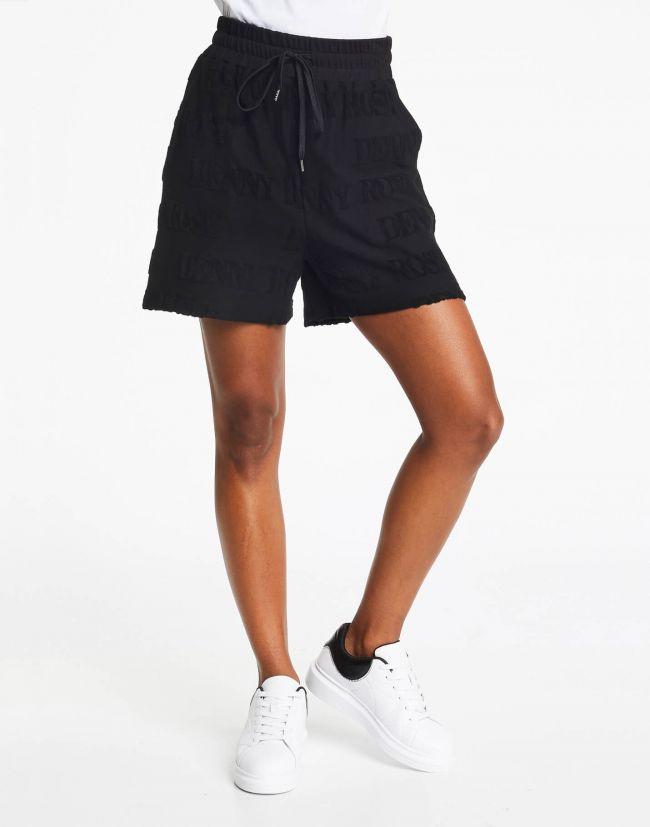 Short negro mujer con relieve de DENNY ROSE