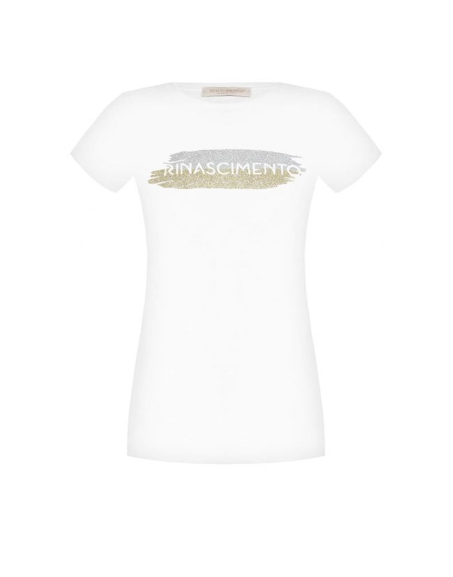 Camiseta RINASCIMENTO blanca logomanía