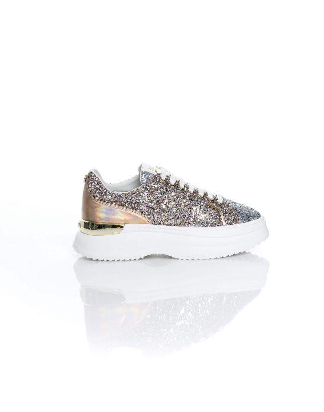 Zapatillas glitter con maxi suela de FRACOMINA