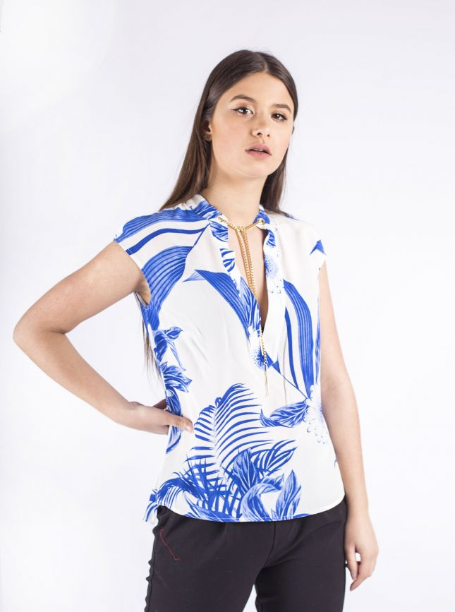 Top GUESS MARCIANO Tropical
