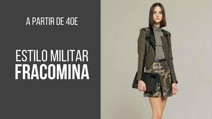 ESTILO MILITAR CON FRACOMINA: LOOKS A PARTIR DE 40€